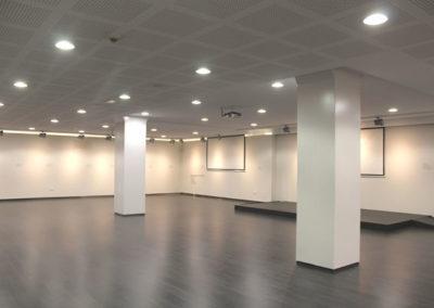 Proyecto y Dirección de Obra de la Sala de Exposiciones de Unicaja. Almería. 2015.