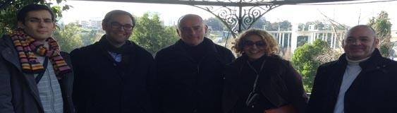 Ferrer y La Nebrija en Oporto