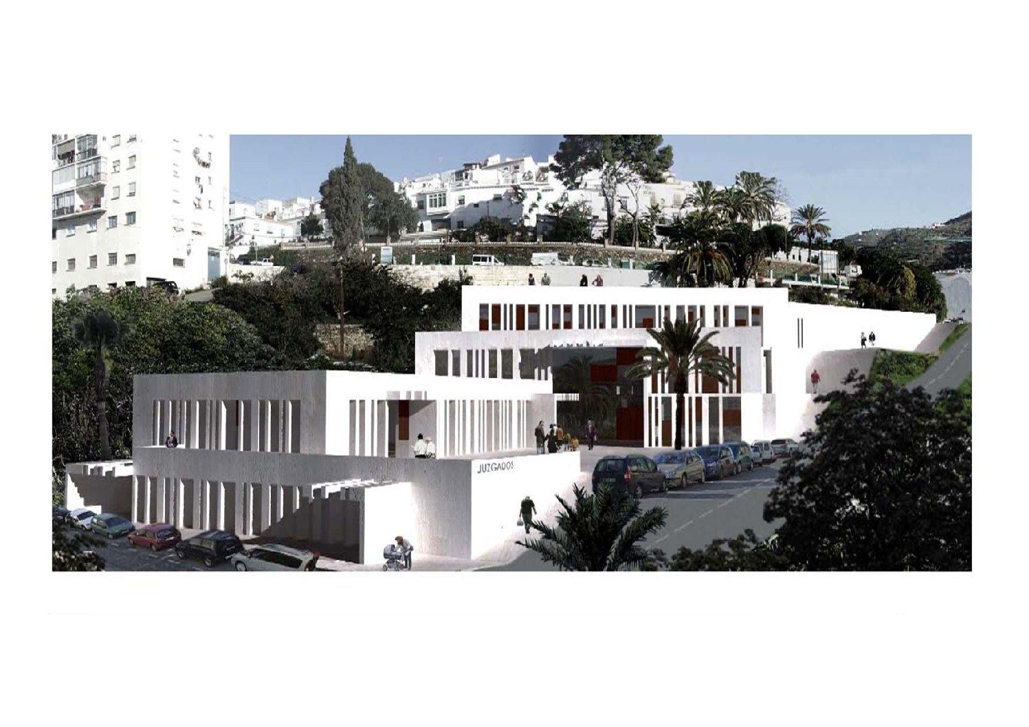 Anteproyecto de Edificio Judicial en Torrox. Málaga. 2007.