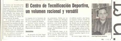 Revista «Arquisur». Marzo 2004. Pabellón «Moisés Ruiz».