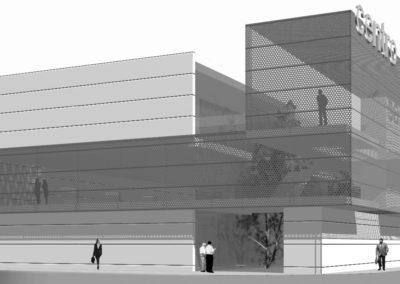 Anteproyecto de Centro de Salud en Adra. Almería. 2006.