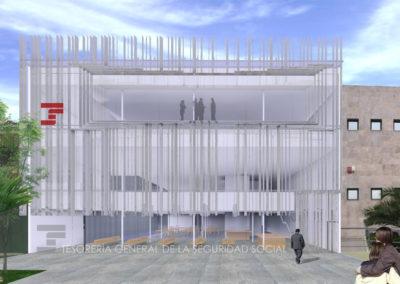 Anteproyecto de Centro de la Seguridad Social en Huércal-Overa. Almería. 2008.